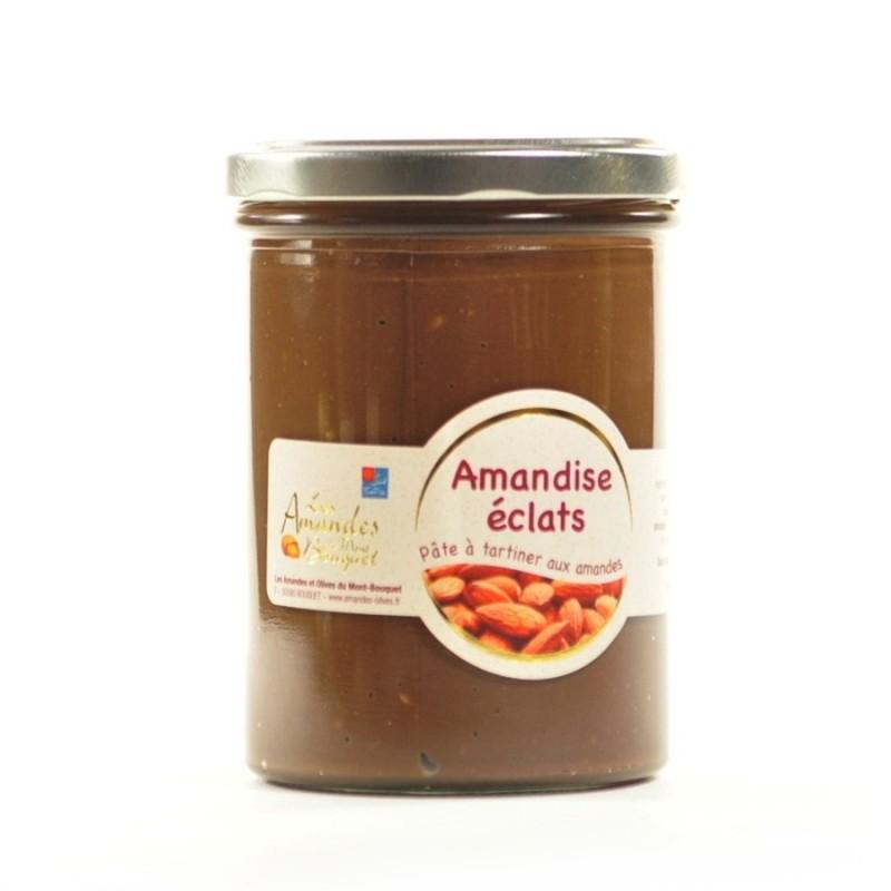 Amandise 450gr – pâte à tartiner aux éclats d'amandes