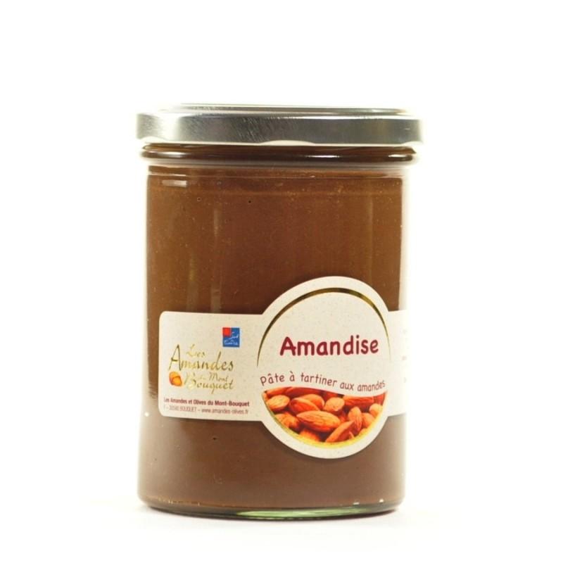 Amandise 450g - pâte à tartiner avec de la poudre amandes