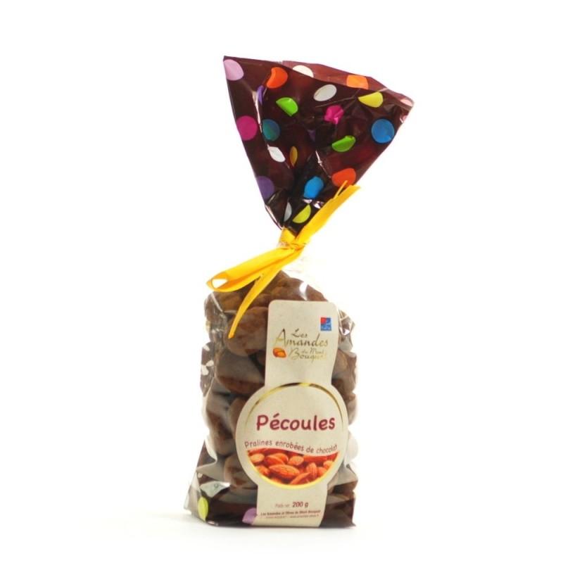 Pécoules aux amandes et au chocolat 200g