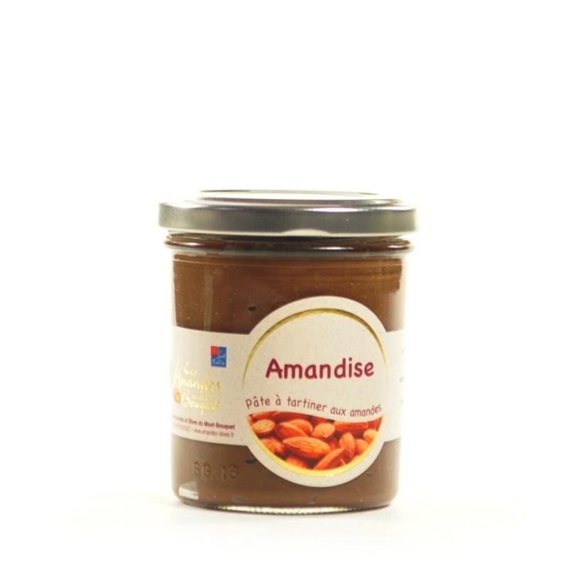 Amandise 200g - pâte à tartiner avec de la poudre amandes