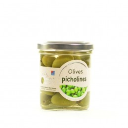 Pot d'olives Picholine nature 100g