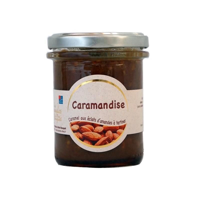 Caramandise 200g - caramel tendre aux éclats d'amandes à tartiner
