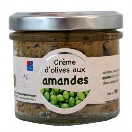 Crème d'olives et amandes 100g