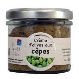 Crème d'olives aux cèpes 100g