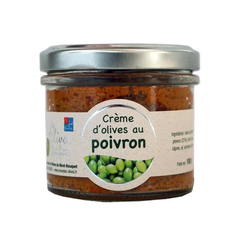 Crème d'olives aux poivrons 100g