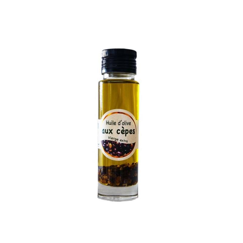 Huile d'olive aux cèpes 10cl