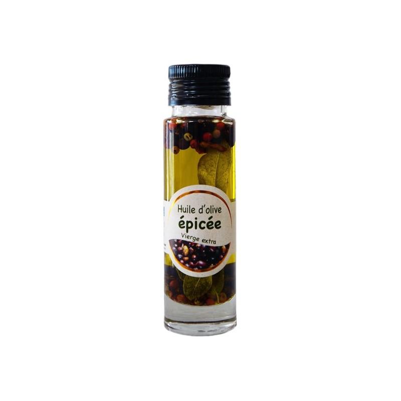 Huile d'Olive picholine aux épices 10cl