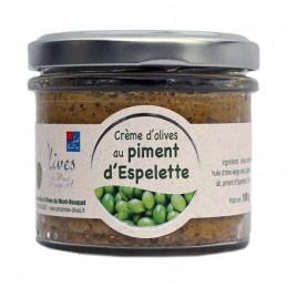 Crème d'Olives au piments d'Espelette 100g