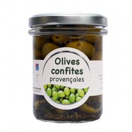 Olives confites provençales