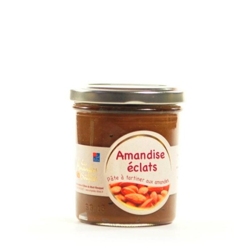Amandise éclats 200g – pâte à tartiner aux éclats d'amandes