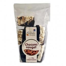 Chocomi-nougat 150g (morceaux de nougat enrobés de chocolat noir)