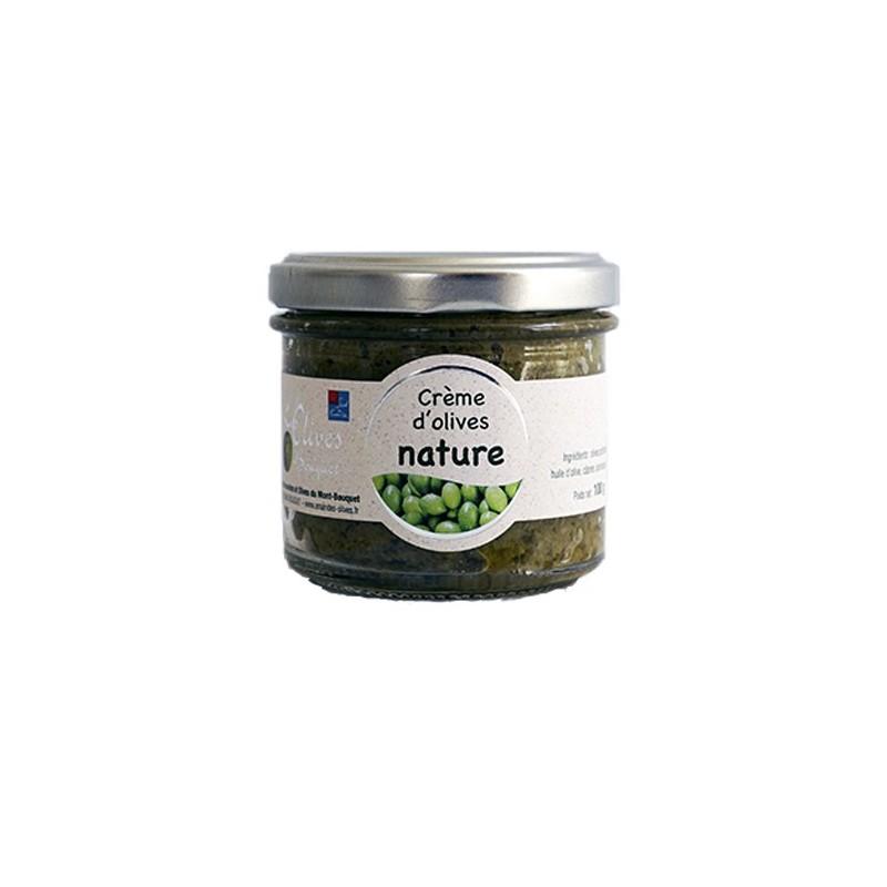 Pot de purée d'olives Picholine nature 100g