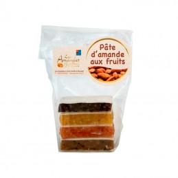 Pâte d'amandes aux fruits 100g