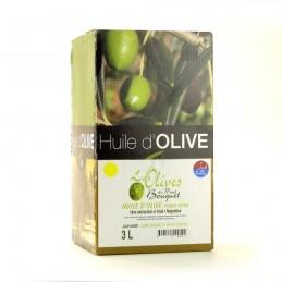 Huile d'Olive Négrette 3L