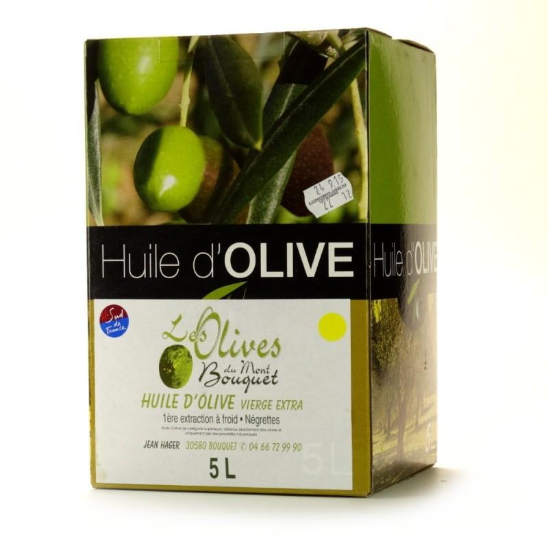 Huile d'Olive Négrette 5L